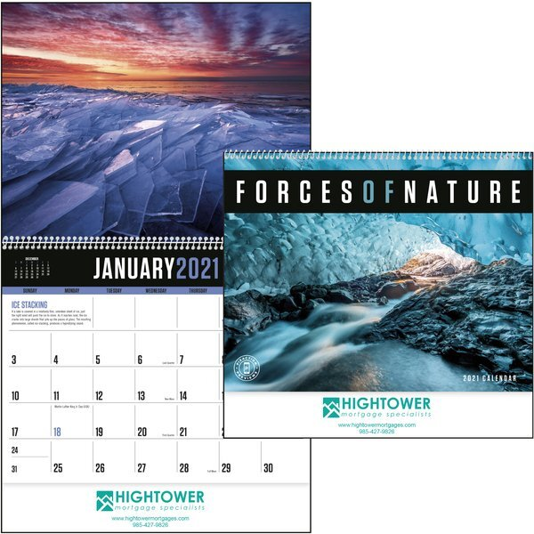 Forces of Natures Wall Calendar