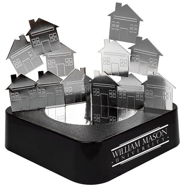 House Magnetic Sculpture Block