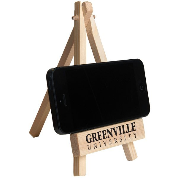 Wooden Easel Phone Holder