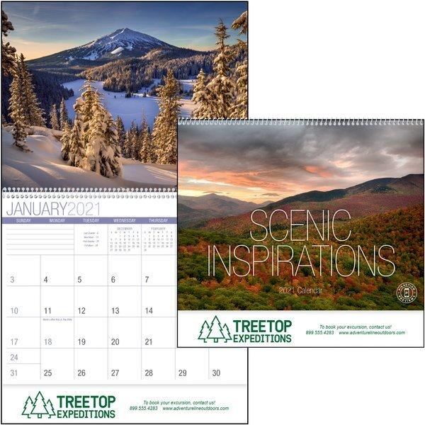 Scenic Inspirations Wall Calendar