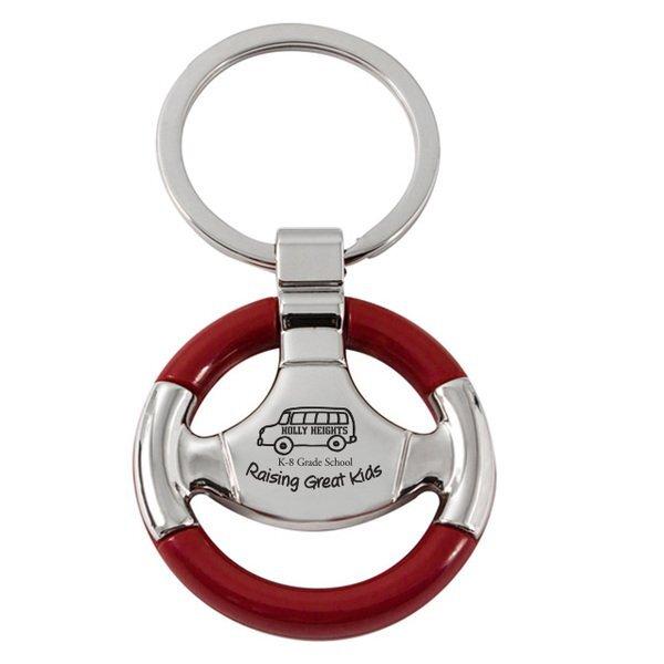 Steering Wheel Keychain