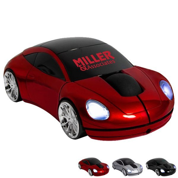 Race Car Wireless Mouse