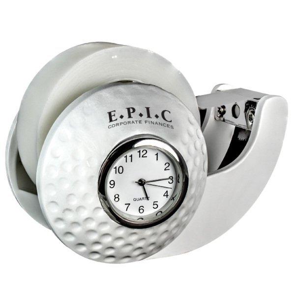 Golf Clock & Tape Dispenser