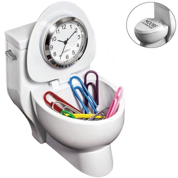 Unique Toilet Clock