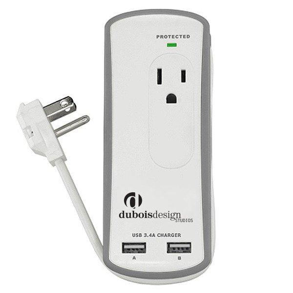 Tamboti Travel Surge Protector & USB Charger