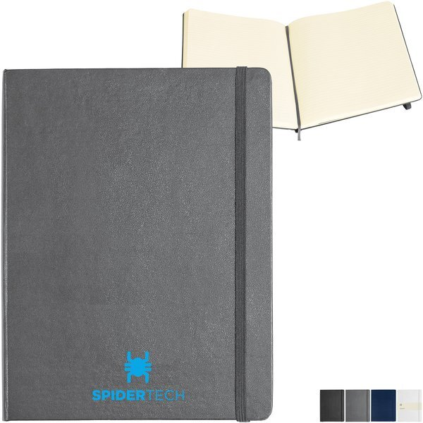 "Moleskine® Hard Cover Ruled Extra Large Notebook, 7-1/2"" x 9-3/4"""