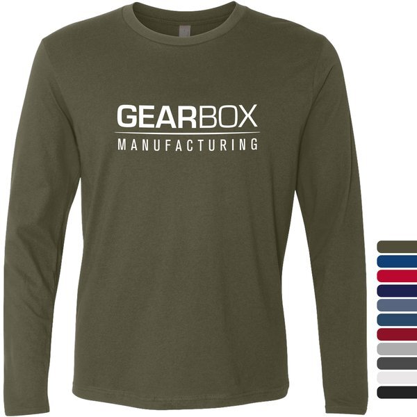 Next Level® Premium Cotton Men's Long Sleeve Fitted Tee