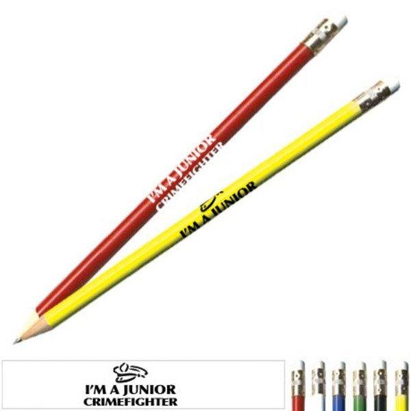 I'm a Junior Crimefighter Safety Pencil, Stock