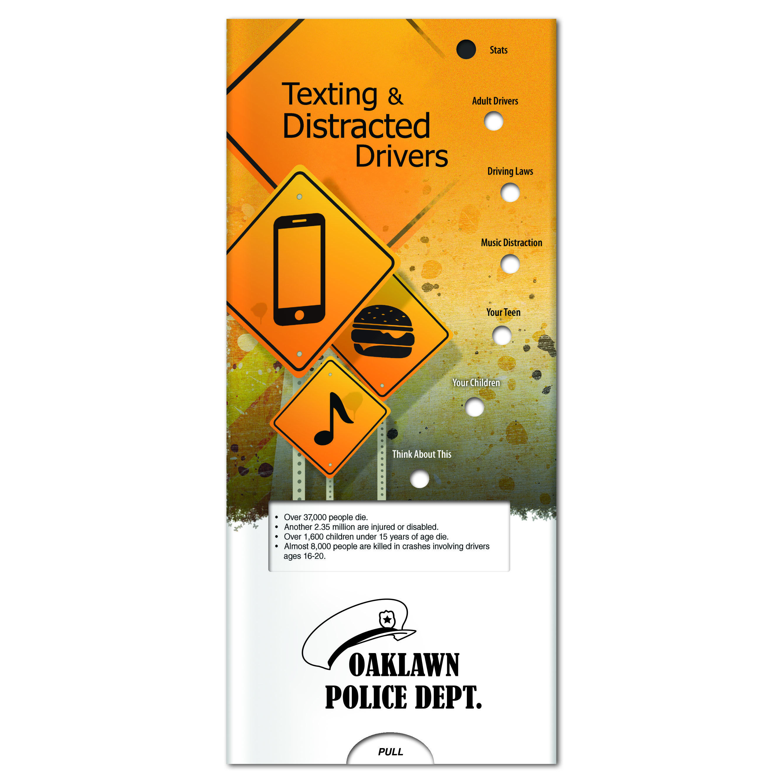 Texting & Distracted Drivers Pocket Slider™