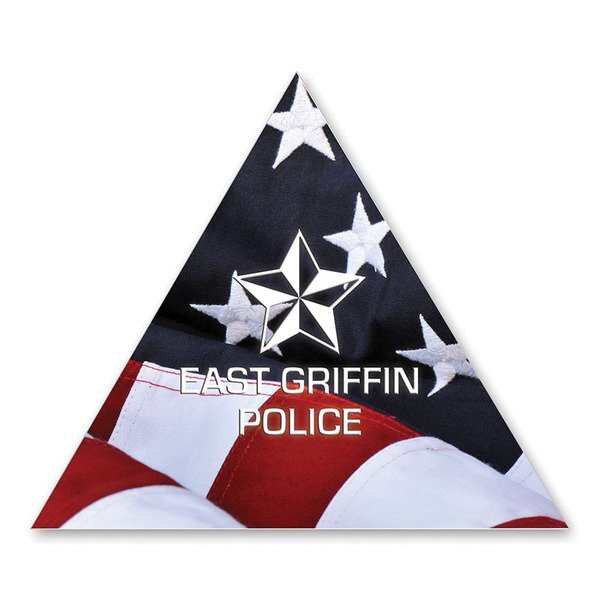 Triangle Magnet, Full Color Imprint