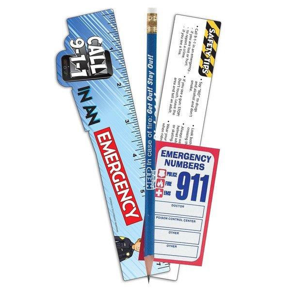 Dial 911 Police Teaching Aid Kit, Stock
