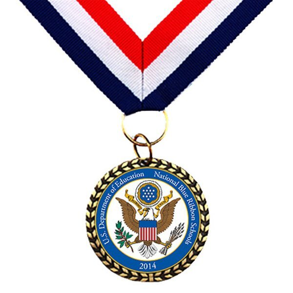 Die Cast Medal with Neck Ribbon