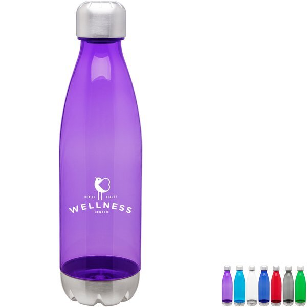 Force Translucent Titan Sport Bottle, 25oz., BPA Free