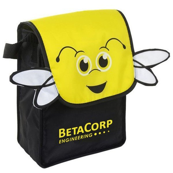 Paws N Claws Polyester Lunch Bag - Bee
