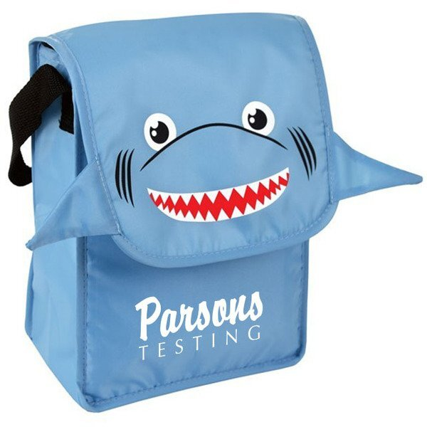 Paws N Claws Polyester Lunch Bag - Shark