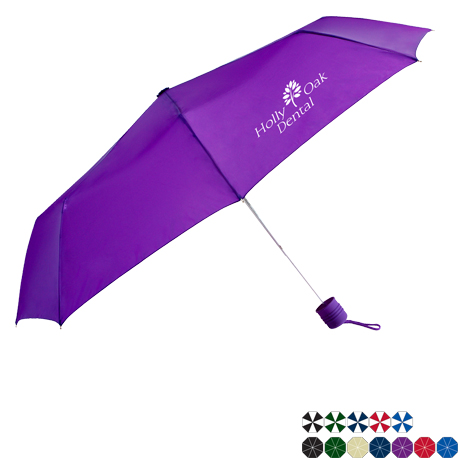 "Commuter Mini Manual Umbrella, 43"" Arc"