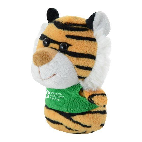"""Shorties Plush Tiger, 4"""""""