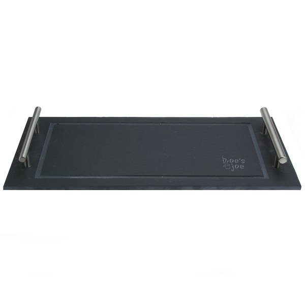 Slate Rectangular Serving Tray with Handles