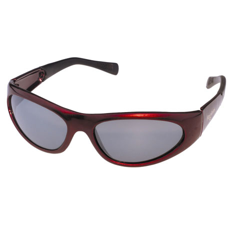 Crimson Wrap Sunglasses