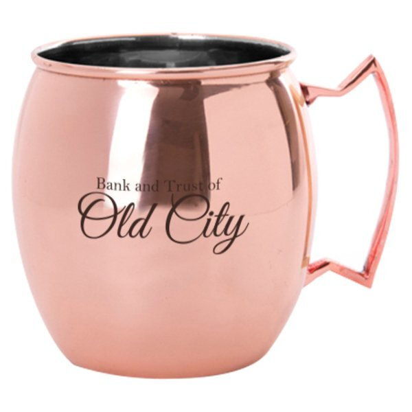 Moscow Mule Copper Plated Mug, 20oz.