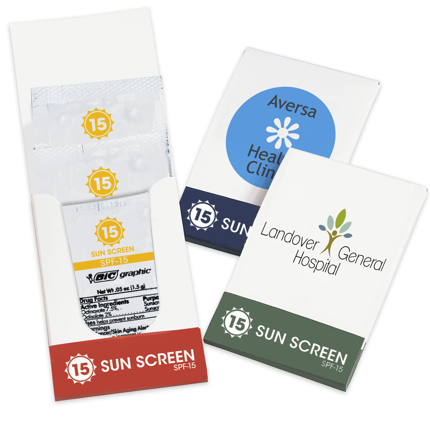 Sunscreen Pocket Pack, SPF-15