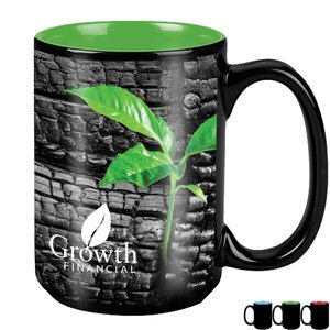 174da2726a4b Mighty Two-Tone Black Ceramic Mug