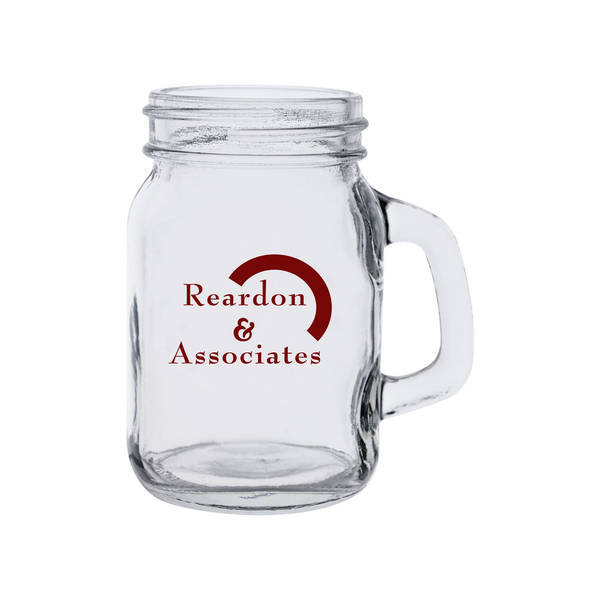 Mini Mason Jar Shot Glass, 4 oz.