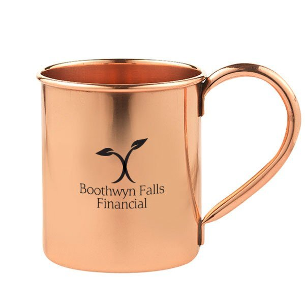 Kiev Copper Moscow Mule Mug, 16oz.