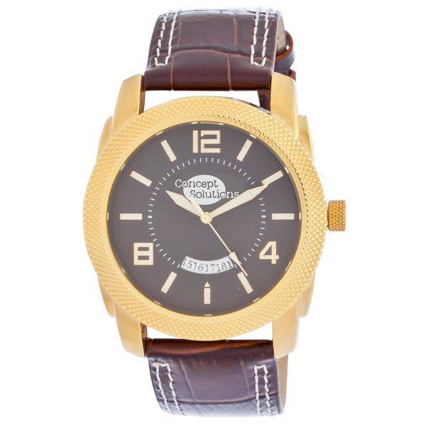 Gold Maverick Men's Watch
