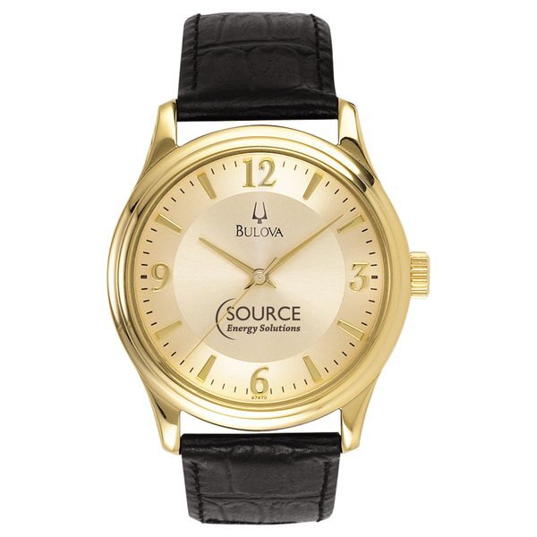 Bulova® Classic Collection Men's Gold Watch