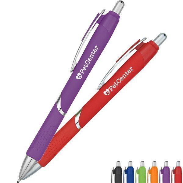 Dottie Grip Click-Action Pen