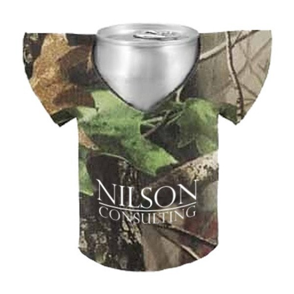 Realtree® Camo Can Cooler Jersey