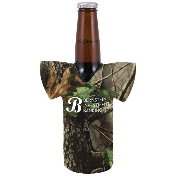 Realtree® Camo Bottle Cooler Jersey