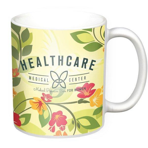 Classic C-Handle Mug, 11oz. w/ Full Color Imprint