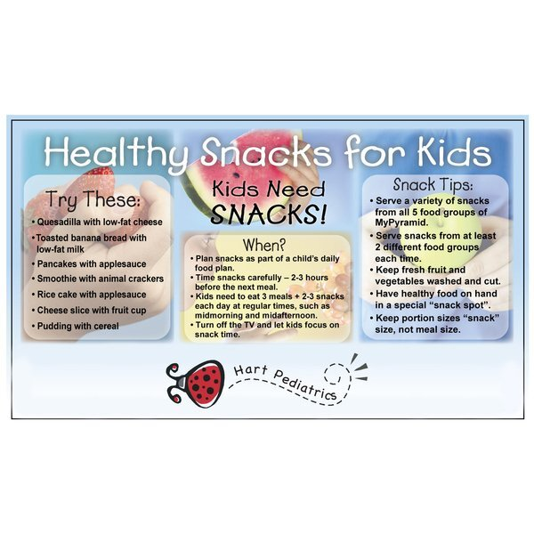 Healthy Snacks for Kids Mega-Mag