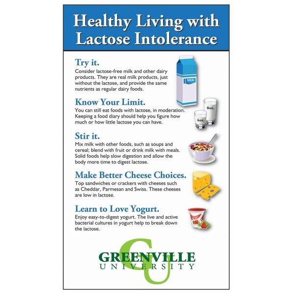 Healthy Living with Lactose Intolerance Mega-Mag