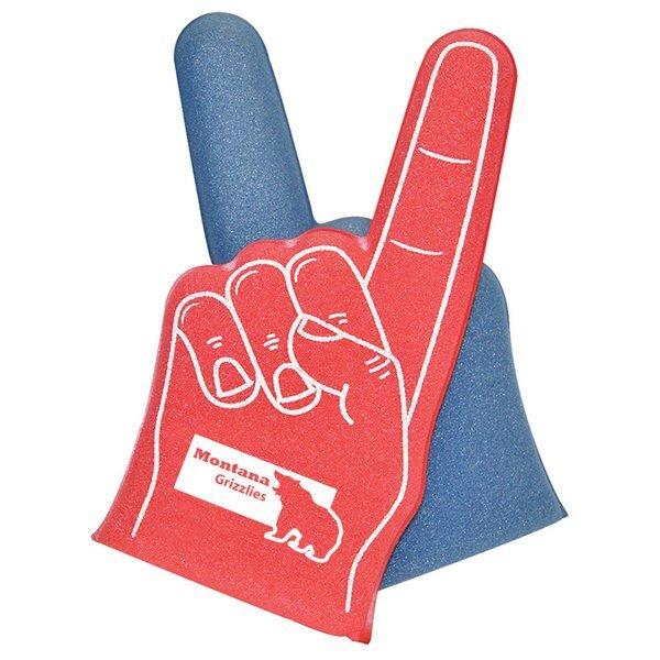"""Two-Tone Foam Finger, 12"""""""
