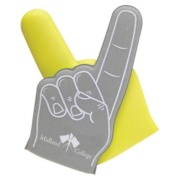 Two-Tone Foam Finger, 16""
