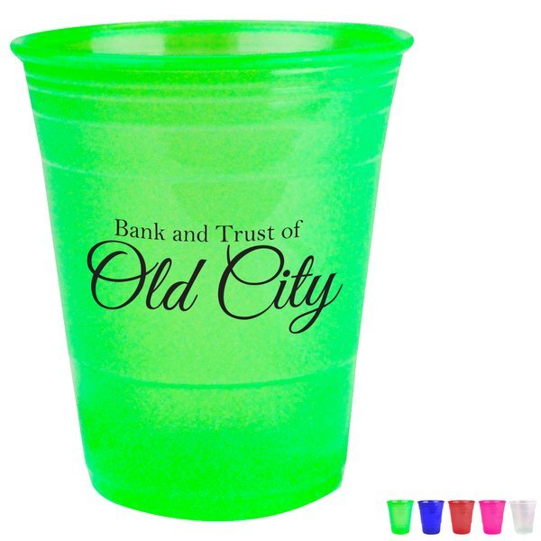 Transparent Uno Cup; 16oz