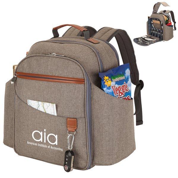 Flushing Meadows Cooler Backpack Picnic Set