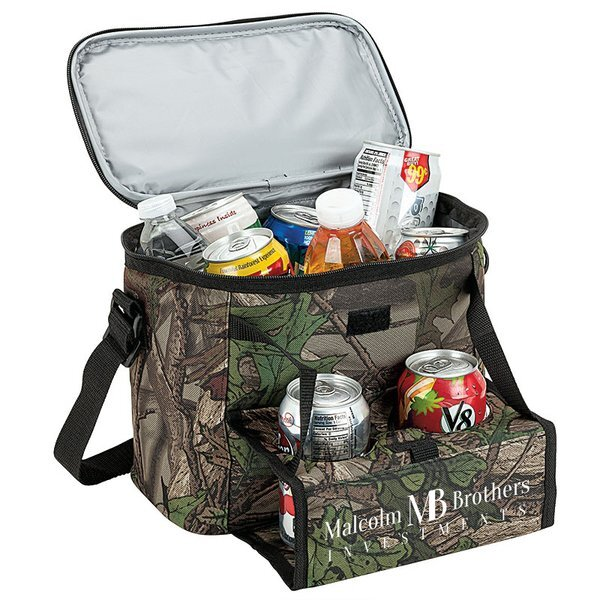 Camo Can Valet 12-Can Cooler Bag