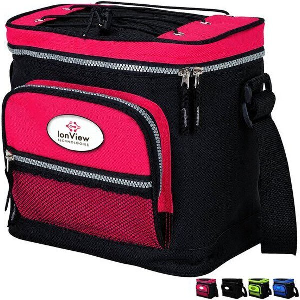 Shenandoah 12-Can Contrast Color Cooler Bag