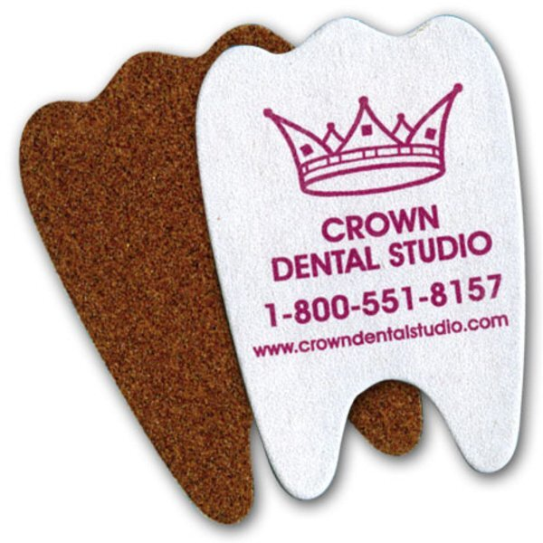 Tooth Shape Emery Board