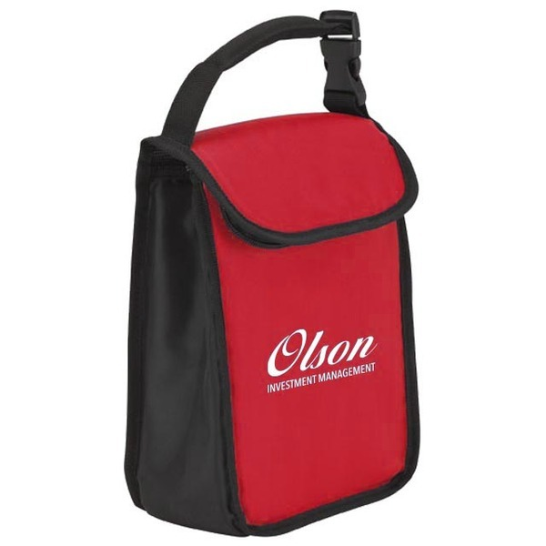 Padded Handle Lunch Sack Cooler Bag w/ Buckle