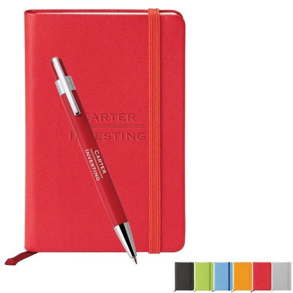 "Tempest & Neoskin® Pen & Journal Set, 3-3/4"" x 5-5/8"""