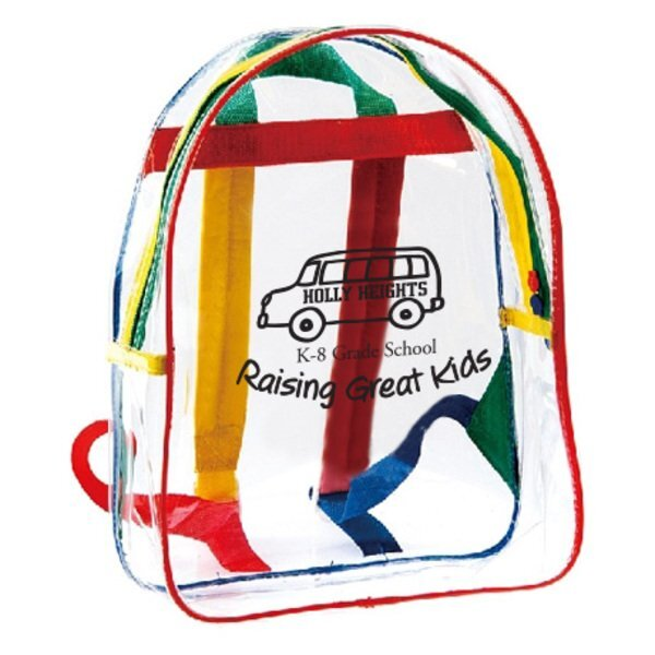 Kid's Clear Backpack