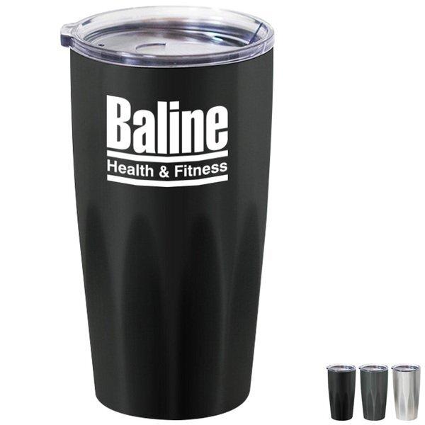 Basecamp® Stainless Steel Vacuum Tumbler; 20oz