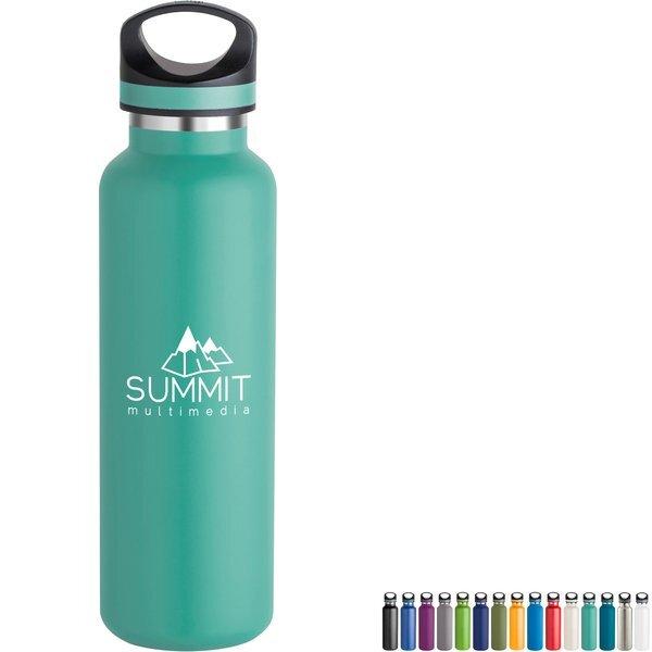 Basecamp® Tundra Copper Lined Vacuum Bottle,  20oz.