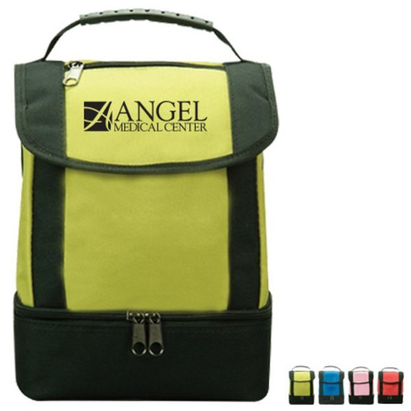 Dual Compartment Lunch Cooler Bag