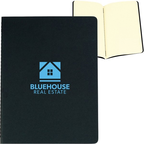 "Moleskine® Cahier Squared Extra Large Journal, 7-1/2"" x 10"""